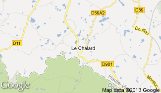 Plan de Le Chalard