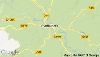 Plan de Eymoutiers