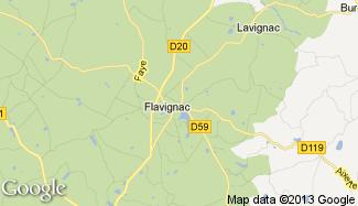Plan de Flavignac