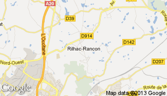 Plan de Rilhac-Rancon