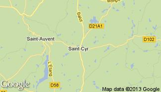 Plan de Saint-Cyr