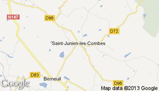 Plan de Saint-Junien-les-Combes