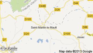 Plan de Saint-Martin-le-Mault