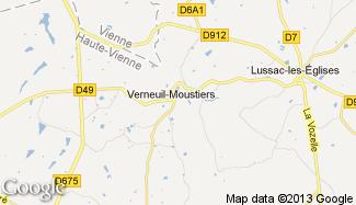 Plan de Verneuil-Moustiers