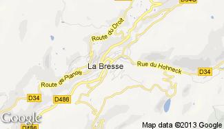 Plan de La Bresse