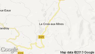 Plan de La Croix-aux-Mines