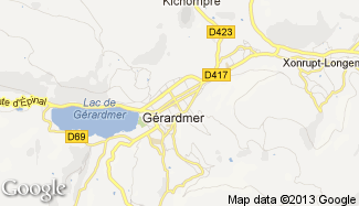 Plan de Gérardmer