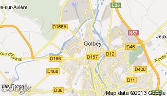 Plan de Golbey