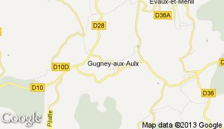 Plan de Gugney-aux-Aulx