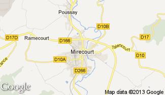 Plan de Mirecourt