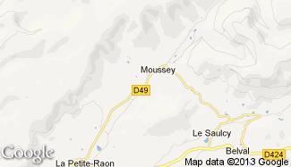 Plan de Moussey