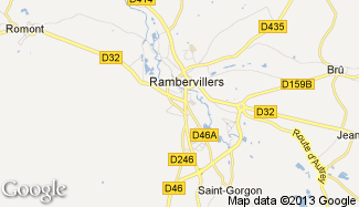 Plan de Rambervillers