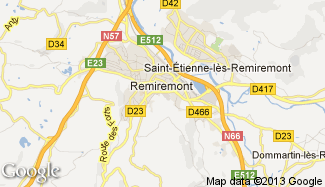 Plan de Remiremont
