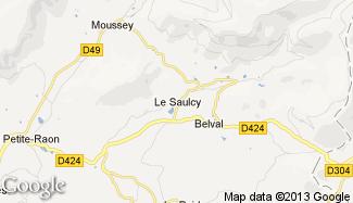 Plan de Le Saulcy