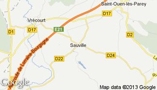 Plan de Sauville
