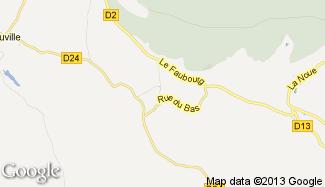 Plan de La Vacheresse-et-la-Rouillie