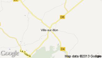 Plan de Ville-sur-Illon