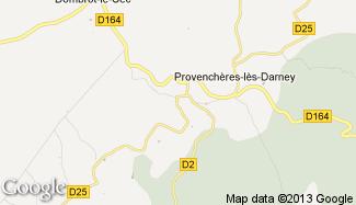 Plan de Viviers-le-Gras