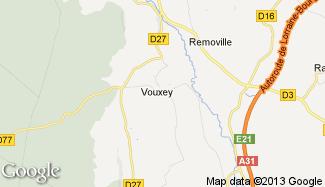 Plan de Vouxey