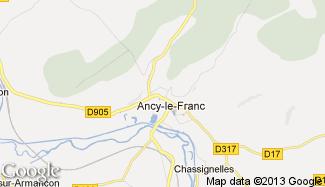 Plan de Ancy-le-Franc