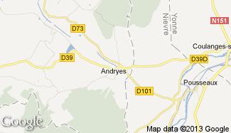 Plan de Andryes