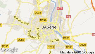 Plan de Auxerre