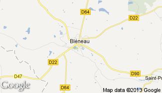 Plan de Bléneau