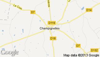 Plan de Champignelles
