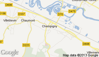 Plan de Champigny