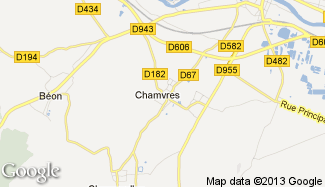 Plan de Chamvres