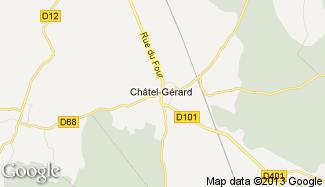 Plan de Châtel-Gérard
