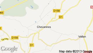 Plan de Chevannes