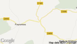 Plan de Fontenay-sous-Fouronnes