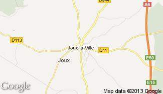 Plan de Joux-la-Ville