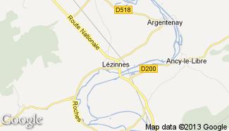 Plan de Lézinnes