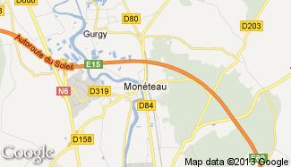 Plan de Monéteau