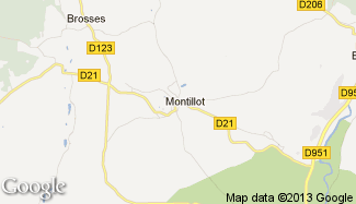 Plan de Montillot