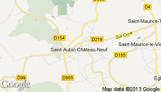 Plan de Saint-Aubin-Château-Neuf