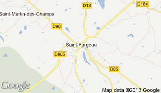 Plan de Saint-Fargeau