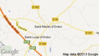 Plan de Saint-Martin-d'Ordon