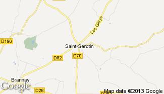 Plan de Saint-Sérotin