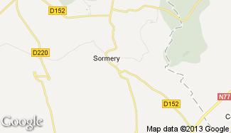 Plan de Sormery