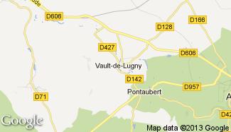 Plan de Vault-de-Lugny