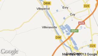 Plan de Villenavotte