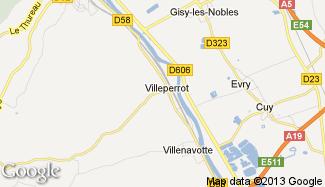 Plan de Villeperrot