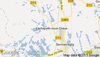 Plan de Lachapelle-sous-Chaux