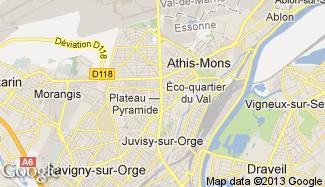Plan de Athis-Mons