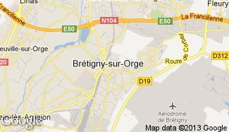 Plan de Brétigny-sur-Orge