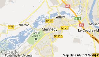 Plan de Mennecy