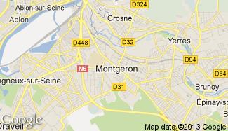 Plan de Montgeron